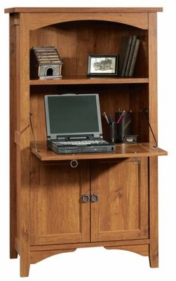 Rose Valley Laptop Cabinet Abbey Oak - Sauder Furniture - 404884
