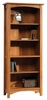 Rose Valley Library Abbey Oak - Sauder Furniture - 407371