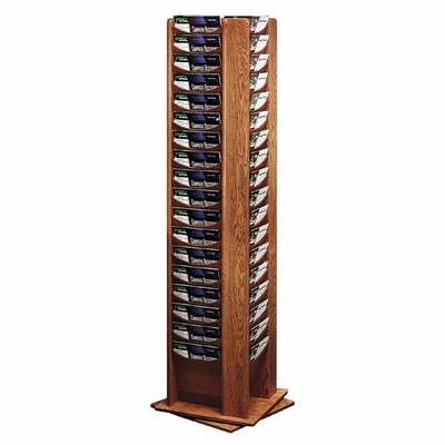 Rotating Display Rack - Medium Oak - BDY61611