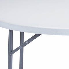 "Round Blow Molded Folding Table 48"" - National Public Seating - BT-48R"