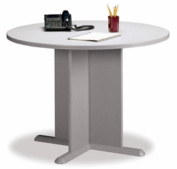 Round Conference Table - Bush Office Furniture - TB14542A