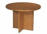 Round Conference Table in Cherry - Office Star - CT42R7