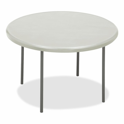 Round Folding Table - Platinum - ICE65243