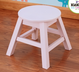 Round Stool in Pink - KidKraft Furniture - 15213