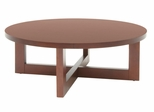 Round Wood Coffee Table - HWTC3713