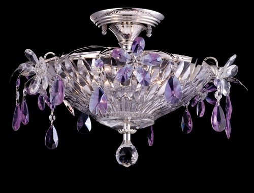 Rowley Semi Flush Mount - Dale Tiffany - GH80287