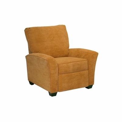 Roxy Contemporary Butternut Reclining Chair - Catnapper