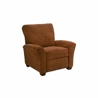 Roxy Contemporary Nutmeg Reclining Chair - Catnapper