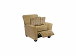 Roxy Contemporary Pecan Reclining Chair - Catnapper
