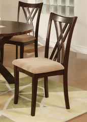 Ruby Dining Chair (Set of 2) in Rich Espresso - Coaster - 101582-SET