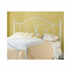 Ruby Headboard in Textured White - Hillsdale
