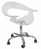 Rumor Chair Clear Acrylic - LumiSource - CHR-TW-RUMOR-CL