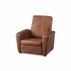 Rustic Brown Gaming Chair and Ottoman - Home Styles - HS-5252-511