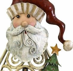 Rustic Santas (Set of 2) - IMAX - 59780-2