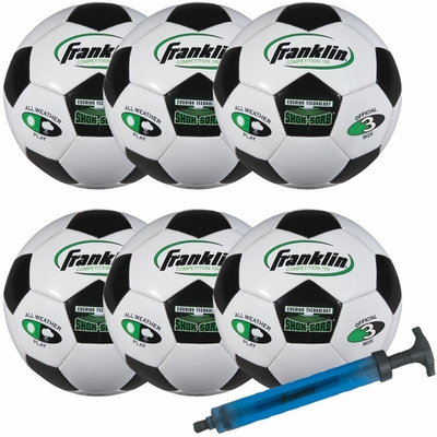 S3 Comp 100 Team 6 Pack with Pump - Franklin Sports