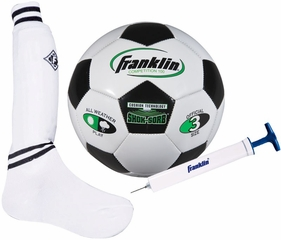 S3 Complete Pee Wee Soccer Set / Pump - Franklin Sports