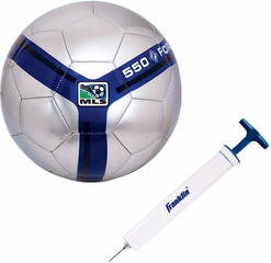 S3 MLS Premier Soccer Ball / Pump - Franklin Sports