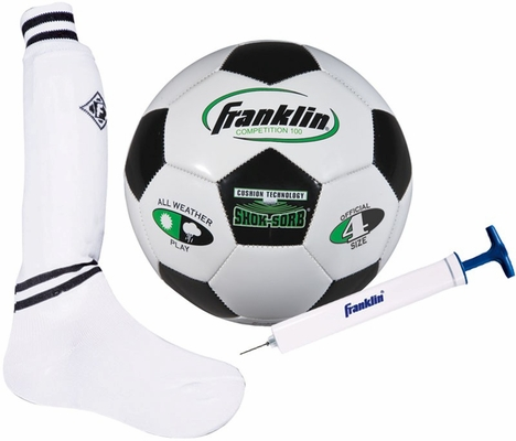 S4 Complete Youth Soccer Set / Pump - Franklin Sports