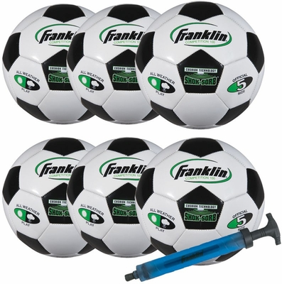 S5 Comp 100 Team 6 Pack with Pump - Franklin Sports