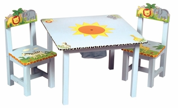 Safari Table and Chairs - Guidecraft - G83202