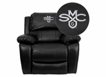 Saint Mary's College of California Gaels Black Leather Rocker Recliner - MEN-DA3439-91-BK-41067-EMB-GG