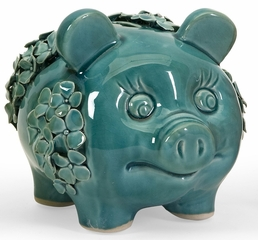Salidra Flower Pigs (Set of 3) - IMAX - 64011-3