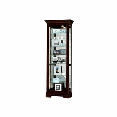 Saloman Traditional Curio Cabinet - Howard Miller