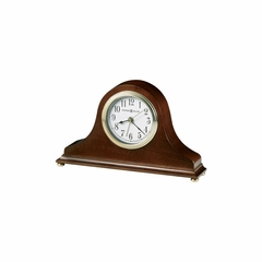 Salvador Quartz Alarm Clock in Windsor Cherry - Howard Miller
