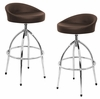 Samba Barstool Brown (Set of 2) - LumiSource - BS-TW-SAMBA-BN2