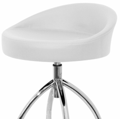 Samba Barstool White (Set of 2) - LumiSource - BS-TW-SAMBA-W2