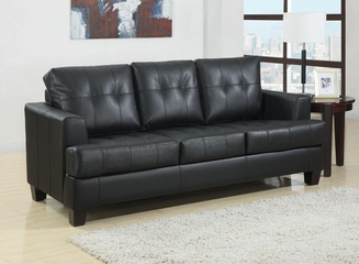 Samuel Sofa Sleeper in Black - 501680