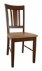 San Remo Splatback Chair (Set of 2) in Cinnamon / Espresso - C58-10P