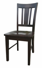 San Remo Splatback Chair (Set of 2) in Java - C15-10P