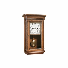 Sandringham Oak Yorkshire Wall Clock - Howard Miller