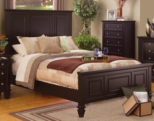 Sandy Beach Classic High Headboard Bed - 201991Q