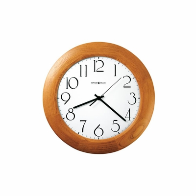 Santa Fe Round Quartz Wall Clock - Howard Miller