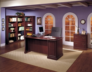 Saratoga Executive Office Furniture Package 3 - Bush Office Furniture - OFFPKG-35