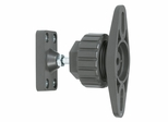 Satellite Speaker Bracket Mounts Adjustable Tilt and Swivel in Titanium Color - Atlantic - SPB03