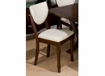 Satin Walnut 7PC Rectangular Dining Set  - 433-406KD
