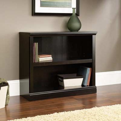 Sauder 2 Shelf Bookcase Estate Black