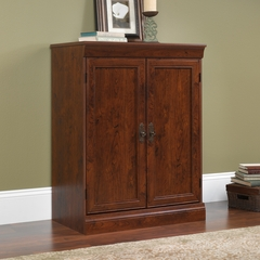 Sauder Arbor Gate Technology Cabinet Coach Cherry