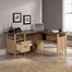 Sauder August Hill L-Desk Dover Oak
