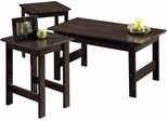Sauder Beginnings 3 Pack Table Set Cinnamon Cherry