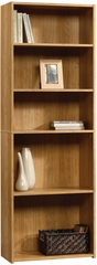Sauder Beginnings 5-Shelf Bookcase Highland Oak