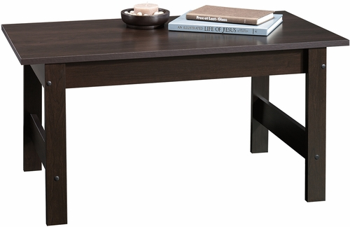 Sauder Beginnings Coffee Table Cinnamon Cherry