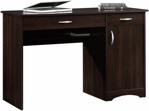 Sauder Beginnings Computer Desk Cinnamon Cherry