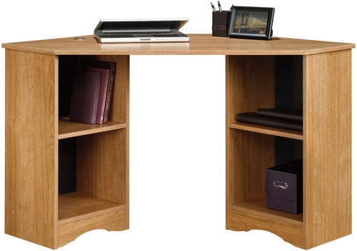 Sauder Beginnings Corner Computer Desk Highland Oak