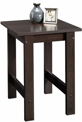 Sauder Beginnings End Table Cinnamon Cherry