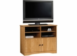 "Sauder Beginnings High Boy 37"" TV Stand Highland Oak"