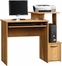 Sauder Beginnings Home Office Computer Desk Highland Oak